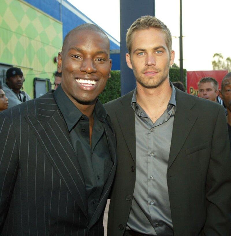 Tyrese y Paul fueron amigos desde que se lanzó el segundo filme de la saga.