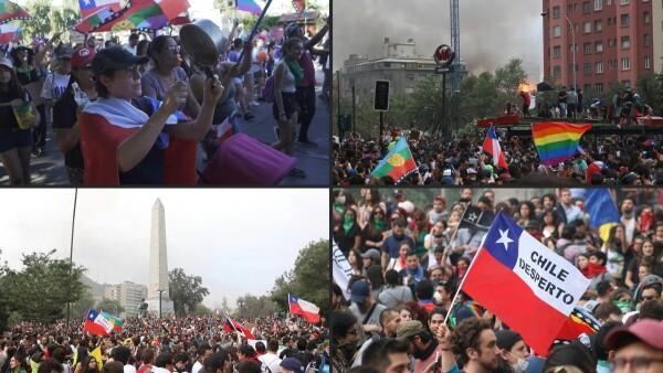 Tras un mes de protestas, el gobierno de Chile accede a cambiar la Constitución
