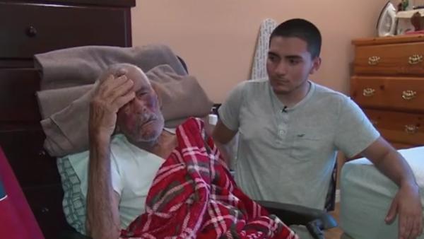 Golpean brutalmente a mexicano de 91 años en Los Ángeles
