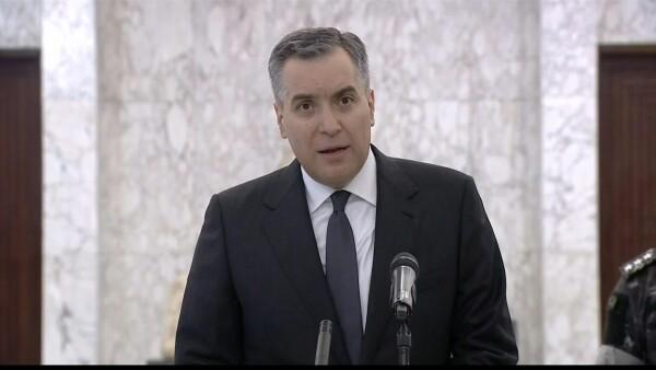El Parlamento de Líbano elige a Mustapha Adib como nuevo primer ministro