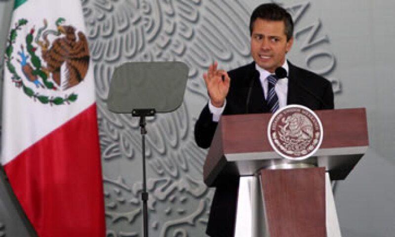 Peña está impulsando una serie de reformas económicas clave que asegura son necesarias para poder modernizar al país. (Foto: Notimex)