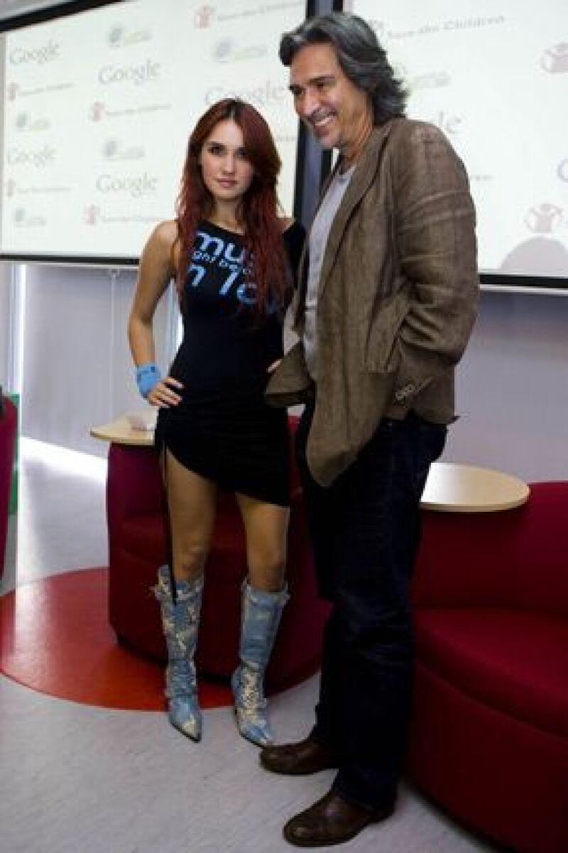 La actriz y cantante fue nombrada representante de `Tecnolgía Sí´, convocado por Google, Save the Children y Chicos.net, el cual se encargará de promover el buen uso de internet.