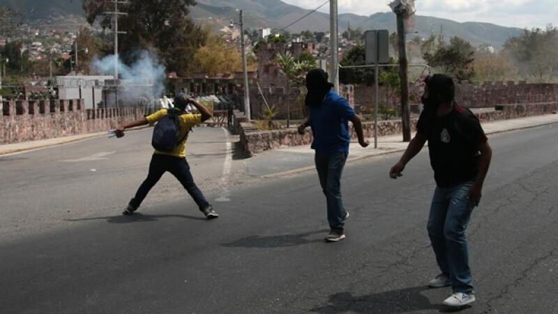 enfrentamiento chilpancingo ayotzinapa