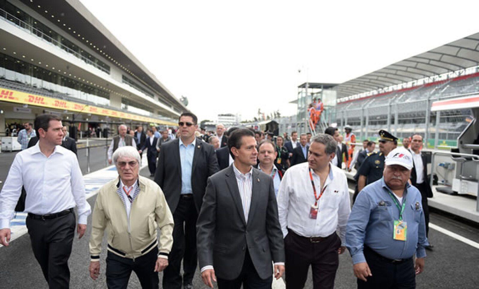 La carrera de la F1 en México tendrá una promoción que equivale a 200 millones de dólares, informó la Secretaría de Turismo del DF.