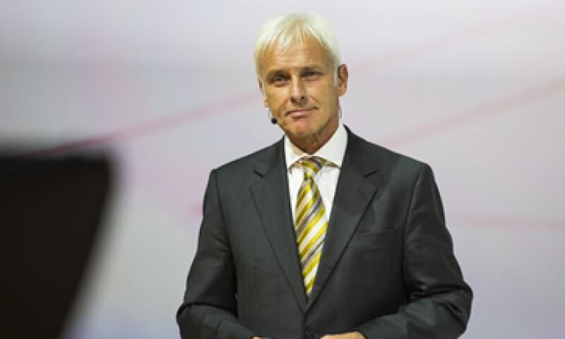 Matthias Müller tiene 62 años. (Foto: AFP )