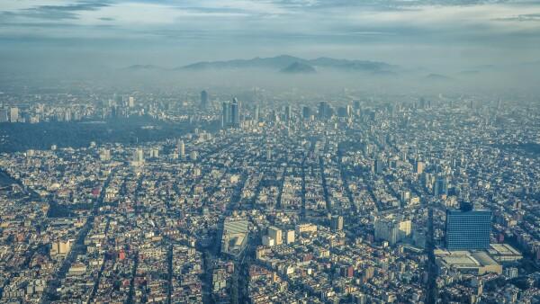 Mexico City, Aerial View