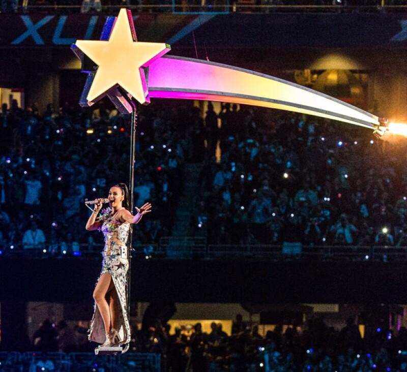 El show de Katy Perry resultó ser uno de los más vistos en la historia del Super Bowl.