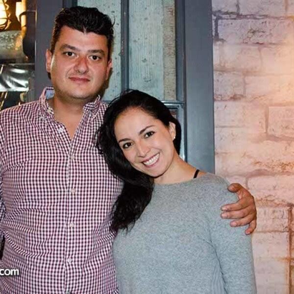 Mónica Portes y Víctor Damm