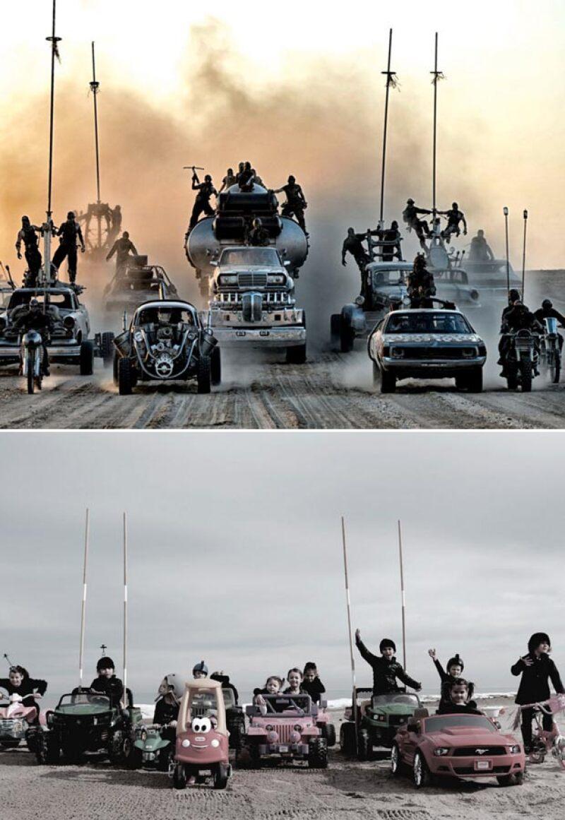 Mad Max también se cataloga como las favoritas entre las cintas nominadas.