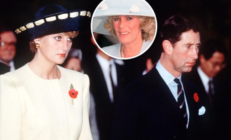 Camila Parker siempre fue la manzana de la discordia entre Diana y Charles, quien años después de que muriera Lady Di se casó con quien fuera su gran amor.