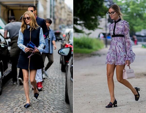 Olivia Palermo y Chiara Ferragni usaron este estilo.