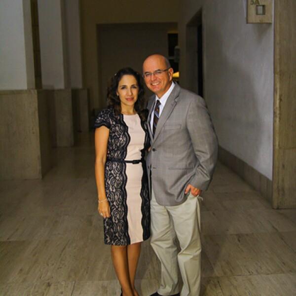 Yolanda de Guajardo y Jorge Guajardo
