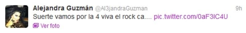 La rockera mexicana podría entrar a quirófano de nueva cuenta esta semana.