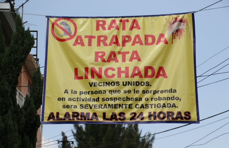 linchamientos México