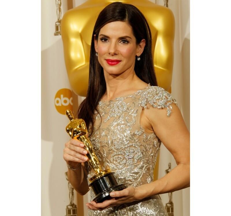 La actriz ganó el Oscar por Mejor Actriz en 2012 por su actuación en `The Blind Side´.