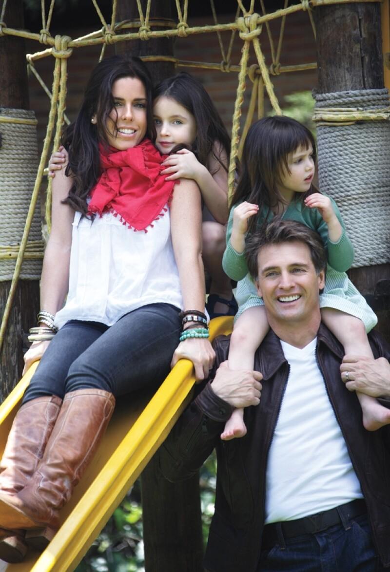 Sin duda, son una familia de guapos.