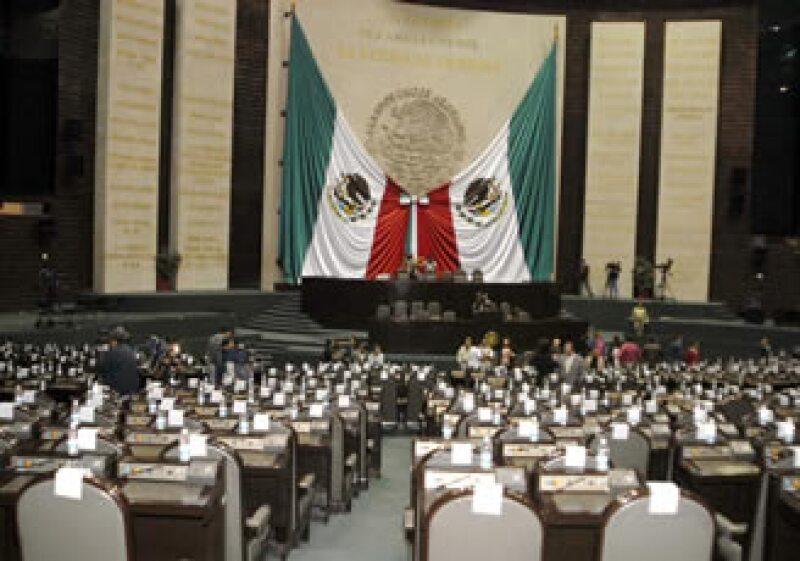 San Lázaro aún trabaja sin comisiones ordinarias (Foto: Notimex)
