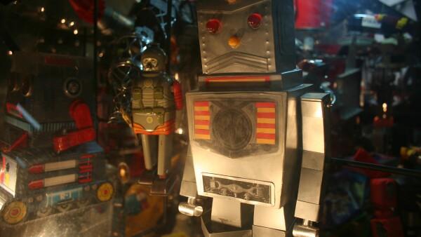 Los detalles de estos robots requieren insumo tales como pl�stico, textiles, etc