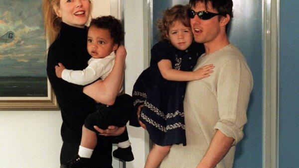 Tom Cruise y Nicole Kidman, durante su tiempo de casados, adoptaron a Connor y a Isabella.