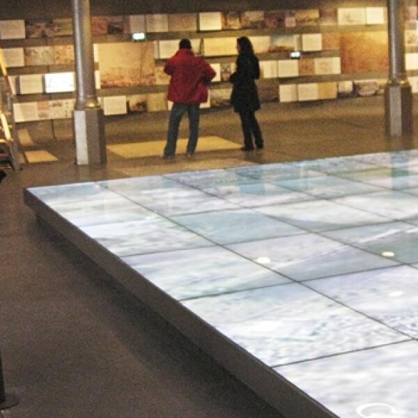 piso LCD Pavillon de l?Arsenal Paris