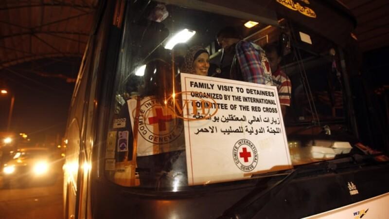 familiares de presos en israel