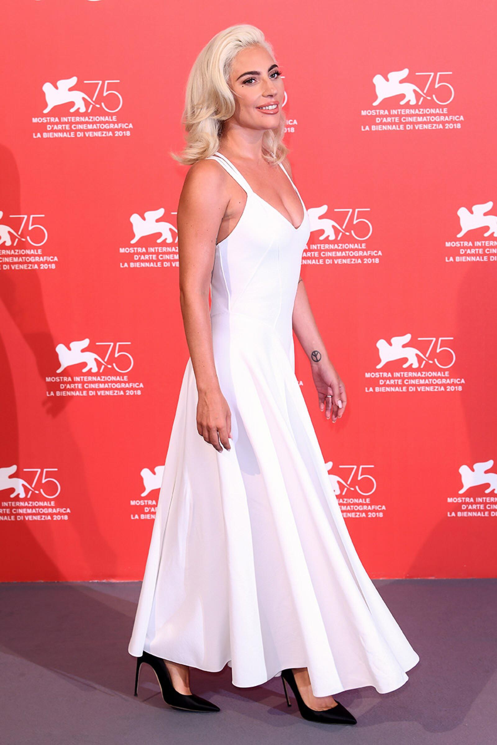 'A Star is Born' photocall, 75th Venice International Film Festival, Italy - 31 Aug 2018