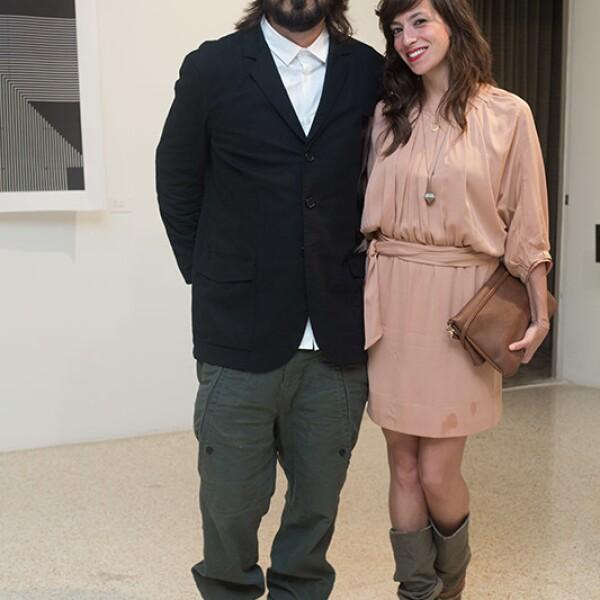 Eduardo López y Aline Tom