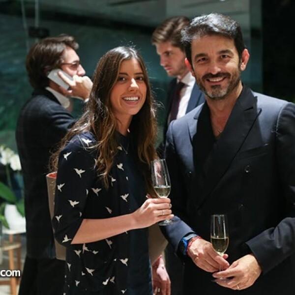 Paola Elizondo y Toni Benítez