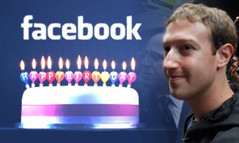 Mark Zuckerberg celebrará en grande su cumpleaños 28 con la entrada de Facebook al Nasdaq. (Foto: Especial)