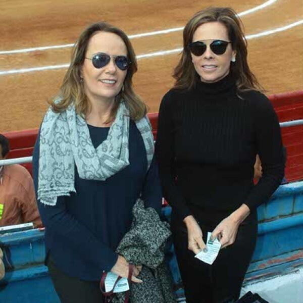 Maite de Martínez Vertiz y Ana Paula de Sordo Madaleno