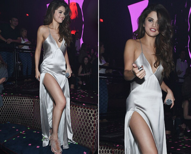 Un medio asegura que, durante la fiesta, la cantante estuvo acompañada por el actor Orlando Bloom.
