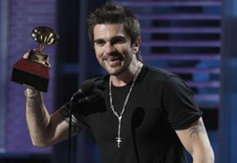 El cantautor colombiano llegó a 16 megáfonos en su carrera, superando a Alejandro Sanz.