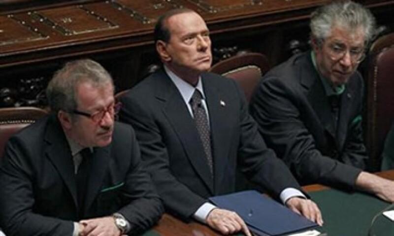 El presidente Napolitano dijo que Berlusconi era consciente de lo que pasó en el  Parlamento, donde perdió la mayoría. (Foto: Reuters)