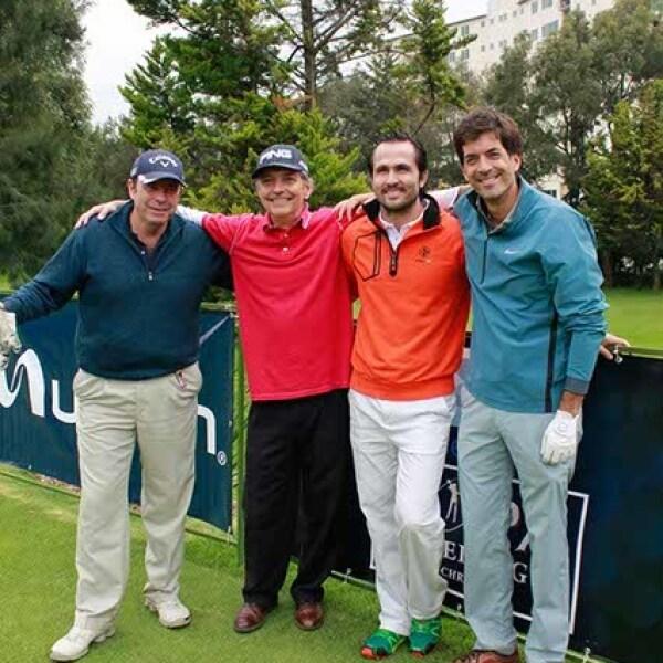 Carlos González,Joaquín Riva,Rico Diener y Gonzalo Gil