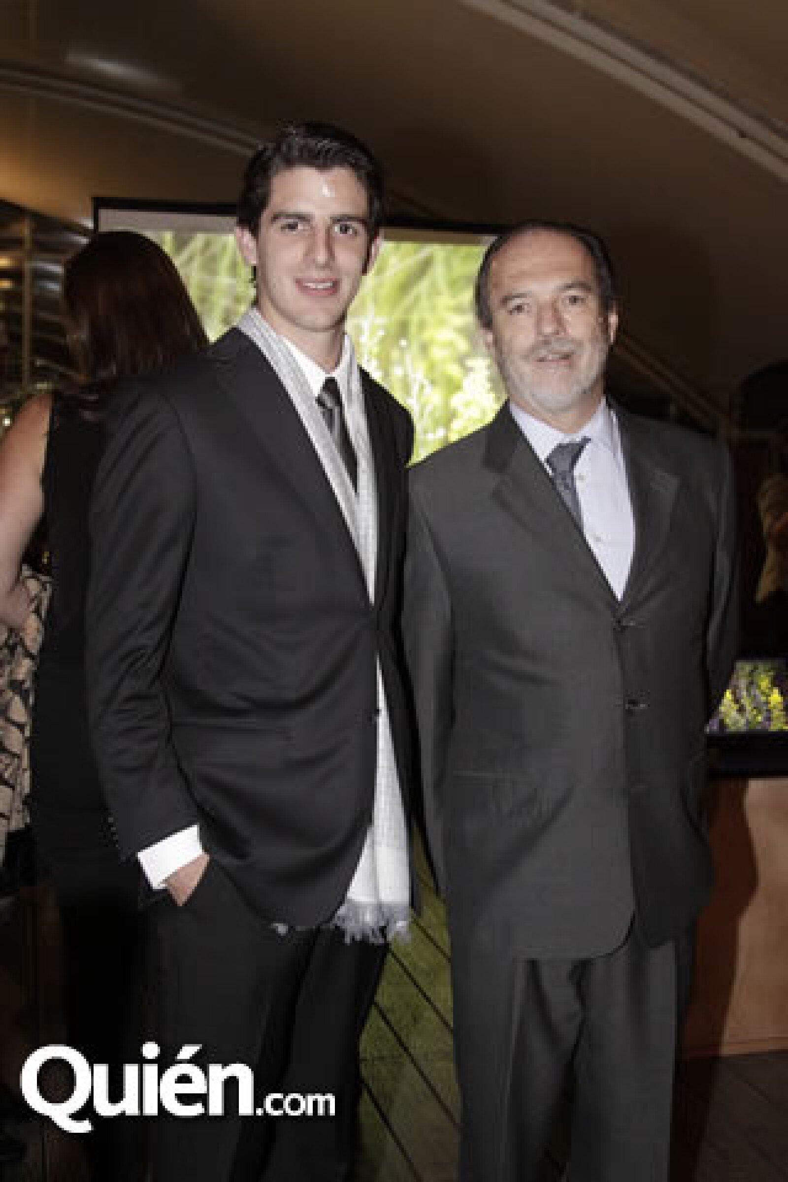 Pablo Zorrilla y Enrique Helguero