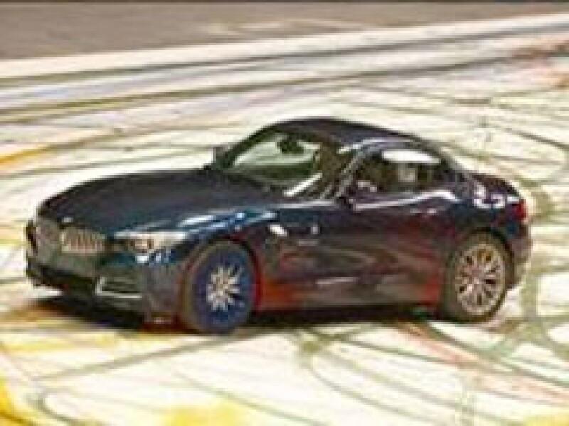 La campaña del Z4 es parte de una iniciativa de BMW por patrocinar al arte moderno. (Foto: BMW)