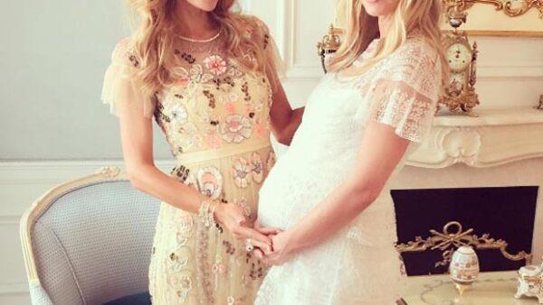 Un festejo no fue suficiente para la hermana menor de Paris, quien próximamente le dará la bienvenida a su primer bebé.