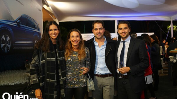 Alejandra Astiazarán,Carla Orestano,Paulino Madrazo y Javier Palacios