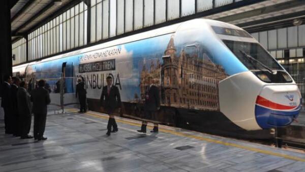 Tren de alta velocidad de Turqu�a
