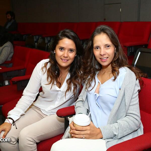 Daniela Ustarán y Beatriz Álvarez