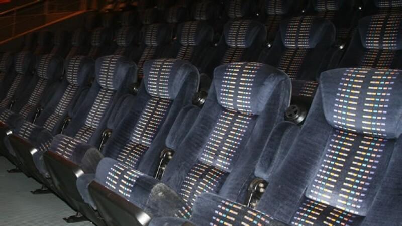 asientos reclinados de cine
