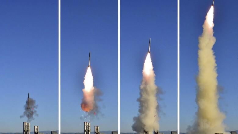 Corea del Norte: misil balístico