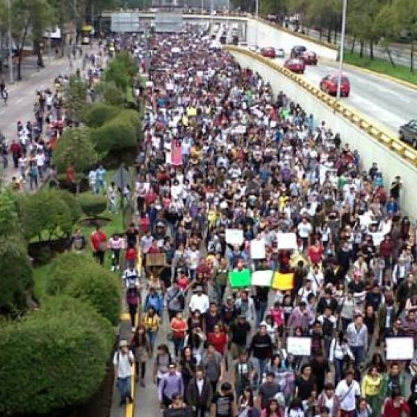 marcha #YoSoy132 2 de julio A