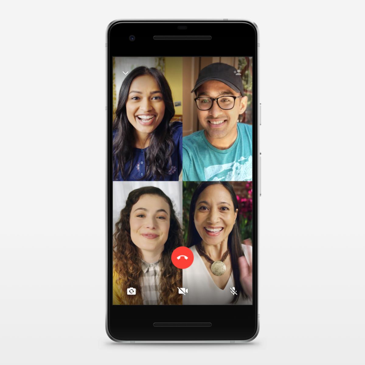 Ya puedes hacer videollamadas o llamadas grupales en Whatsapp