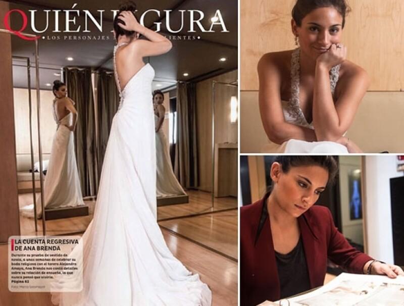 La actriz avisó a sus invitados que su enlace religioso con Alejandro Amaya se suspende temporalmente por motivos personales.