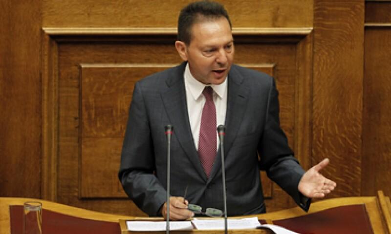 Stournaras  dijo que las privatizaciones son el pilar fundamental de las reformas estructurales en Grecia. (Foto: AP)