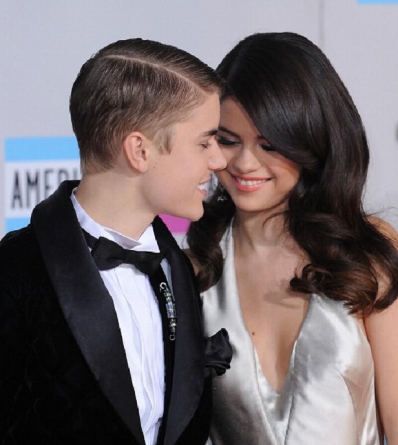 Mientras fueron novios los dos parecían muy enamorados.