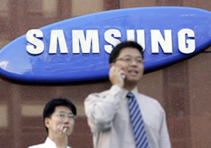 Samsung Electronics es el principal fabricante de chips de memoria y pantallas planas en el mundo. (Foto: AP)