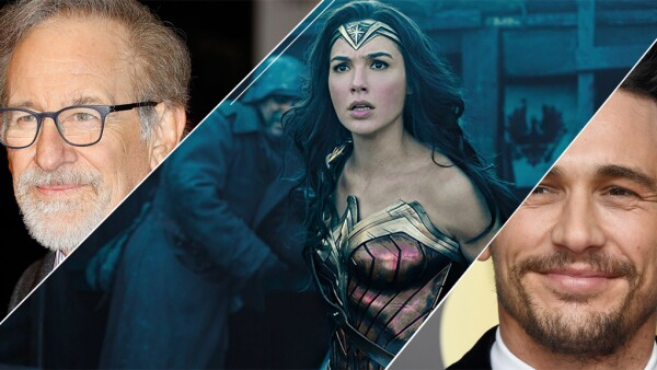 Steven Spielberg, Wonder Woman y James Franco