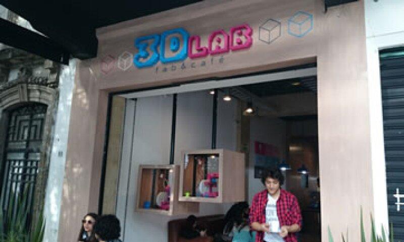 3D Lab es la primer cafetería que ofrece la oportunidad a sus comensales de conocer el mundo de la impresión en tercera dimensión (Foto:CNNExpansion)